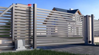 Jaka brama do ogrodzenia panelowego