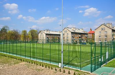 Ogrodzenie boiska sportowego