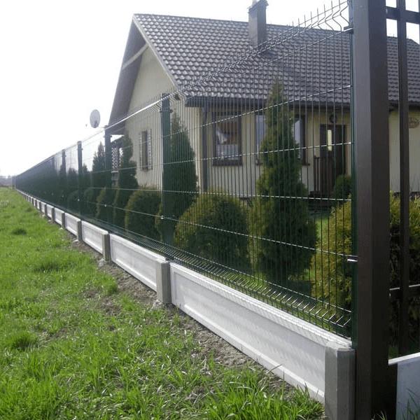 ogrodzenia panelowe 3d